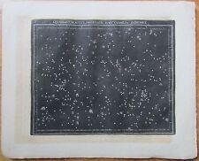 Goldbach: Rare Celestial Map Quadrant Bootes Hair of Berenice Stars - 1799