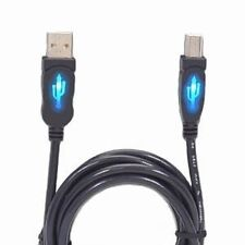Brand NEW CP Technologies CP-USB2-AB-10L Illuminated USB 2.0 Cable 10ft USB A-B