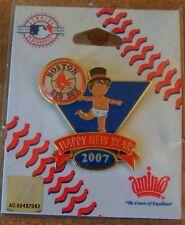 2007 Boston Red Sox Baby New Year's lapel pin MLB