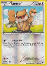 Ratentif Reverse-N&B-Frontieres Franchies - 118/149-Carte Pokemon Neuve Français