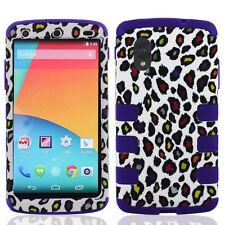 For LG Nexus 5 Google Phone D820 Hybrid T Armor Case Skin Cover