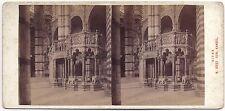 Sienne Siena Italie Photo Alois Beer stéréo Stereoview Vintageargentique