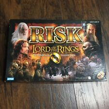 Lord of the Rings RISK Trilogy Edition Board Game No Ring!