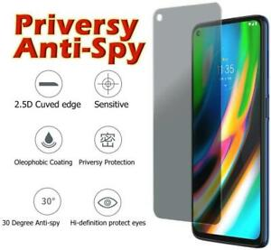 NEW for 2021 Moto G Power/G Play/G Stylus Privacy Glass Privacy Screen Protector