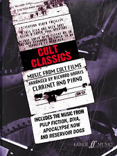 Cult Classics Film Solo Piano Learn to Play CLARINET SONGS FABER Music BOOK