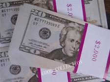 $20 Bills Play Money, 100 Pcs USA Bundle Prop Money Actual Size Magic props