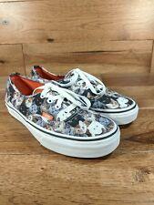 VANS ASPCA Authentic Kitty Print Cats Womens  Shoes Sneakers SIZE 7