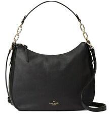 NWT Kate Spade Vivian Mulberry Street Leather Hobo Shoulder Bag Black WKRU4138