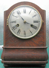 More details for antique vintage h.a.c. wurttemberg mantel clock in good working order with key