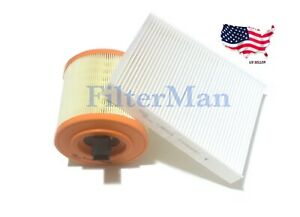 Engine & Cabin Air Filter for 2016-2019 Chevy Cruze 1.4 & Cadillac ATS V6