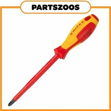 Knipex Phillips PH4 Screwdriver Insulated VDE 1000V 982404