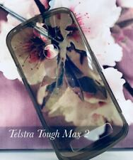 Grey  TPU Gel Jelly Case Cover for Telstra Tough Max T85  Free Screen Guard
