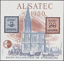 FRANCE 1980 BLOC CNEP  N°1** ALSATEC (salon philatélique de strasbourg) TB