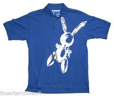 JEFF KOONS 'Rabbit' 1986/2008 Limited Edition Artist x MCA Polo Shirt M **NEW**