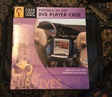 "Case Logic Portable In-Car DVD Player Case 9"""
