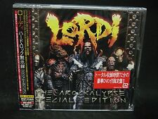 LORDI Arockalypse + 3 JAPAN CD + DVD SPECIAL EDITION Kiss Twisted Sister UDO