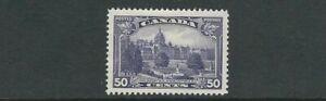 CANADA 1935 PARLIAMENT BUILDINGS, VICTORIA (Sc. 226 50c) VF UNUSED no gum