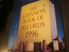 The Guinness Book of Records 1996, , Like New, Hardcover