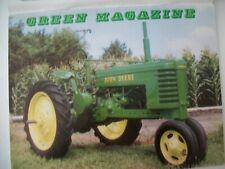 John Deere 1941 model H tractor Green Magazine May 1990