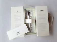 Graf von Faber Castell for Bentley White Satin Ballpoint Pen New Collection 2018