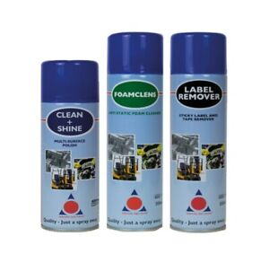 Sticky Label Remover / Antistatic Foam Cleaner / Multi-Surface Polish Cleaner