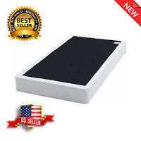 7.5 Metal Bed Box Spring Mattress Foundation Folding Twin Full Queen King Size