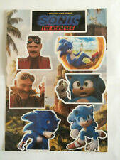 Sonic the Hedgehog Movie Inspired Handmade Stickers