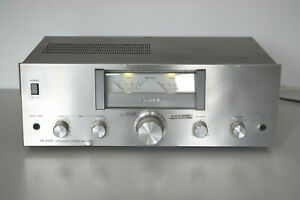 Sony TA-212A Vintage Stereo Integrated Amplifier Hi-Fi Separate With VU METERS
