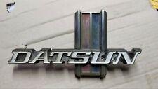 Datsun pick-up 620 grill badge