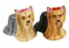 More details for yorkshire terrier gift, cruet set handmade by blue witch