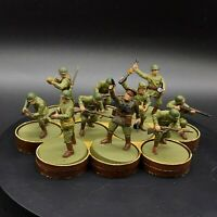 Painted 28mm Bolt Action Soviet Infantry squad #2 Ww2 Wargames factory