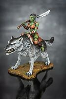 Toy Soldiers Painted ORC Female Warrior FantasyGirl 54mm Miniature 1/32 Figure