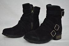 NIB! UGG Australia Women´s Finney Buckle Booties in Black Color. Women's Size 7.