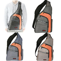 Large Sling Bag Backpack Anti Theft Chest Pack Shoulder Bag Travel Crossbody Bag