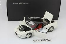AUTOart 1:18 scale HONDA NSX Type R(NA1) 1992 Champion White 73296 *die-cast*