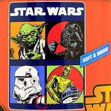 Star Wars Manta Polar 46 X 60 - Long Time Ago Yoda Stormtrooper C-3PO