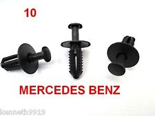 MERCEDES BENZ A CLASS Wheel Cover Push Type Replacement Black Plastic Clips TT58