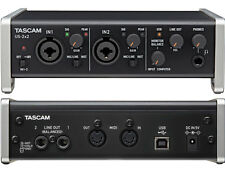 TASCAM US 2x2 USB Interfaccia Audio Midi Scheda Compatibile Iphone Ipad