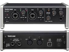 TASCAM US 2x2 - Usb Interfaccia Audio Usb/Midi 2 Ch. Compatibile Iphone Ipad