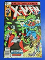 UNCANNY X-MEN KING SIZE ANNUAL #4 BRONZE AGE COMIC BOOK ~ MARVEL 1980 ~ VF