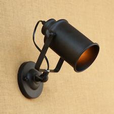 UK E27 Retro Loft Industrial Adjustable Swing Arm Wall Sconce Lamp Light Fixture