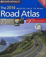 Rand Mcnally Easy to Read Road Atlas Paperback Rand McNally