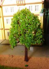 10 maigrüne Laubbäume, 75 mm hoch