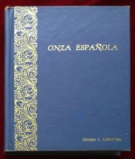 VINTAGE COIN ALBUM FOR CROWN SIZE COINS OF SPAIN