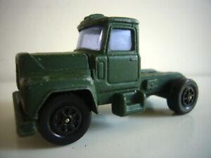 Corgi Super Juniors: Cab to complete Mack tank transporter, superb, made in GB