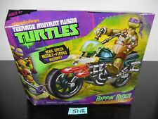 NEW SEALED! TMNT NICKELODEON RIPPIN RIDER TURTLES MISSILE-FIRING MOTORCYCLE 5112