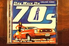 They Were The 70's - Volume Three  -  CD, VG