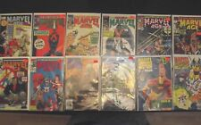 Lot of 12 Marvel Age Issues see listing for numbers and condition FN to VF