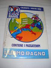 EDIGAMMA COLLANA ALFA N.2  EROI MARVEL L' UOMO RAGNO  1981!! non giocato!