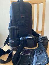 Canon EOS 50D 15.1MP DSLR Camera(Canon EF-S 18-200m f/3.5,EF 85mm f/1.8 USM,bag
